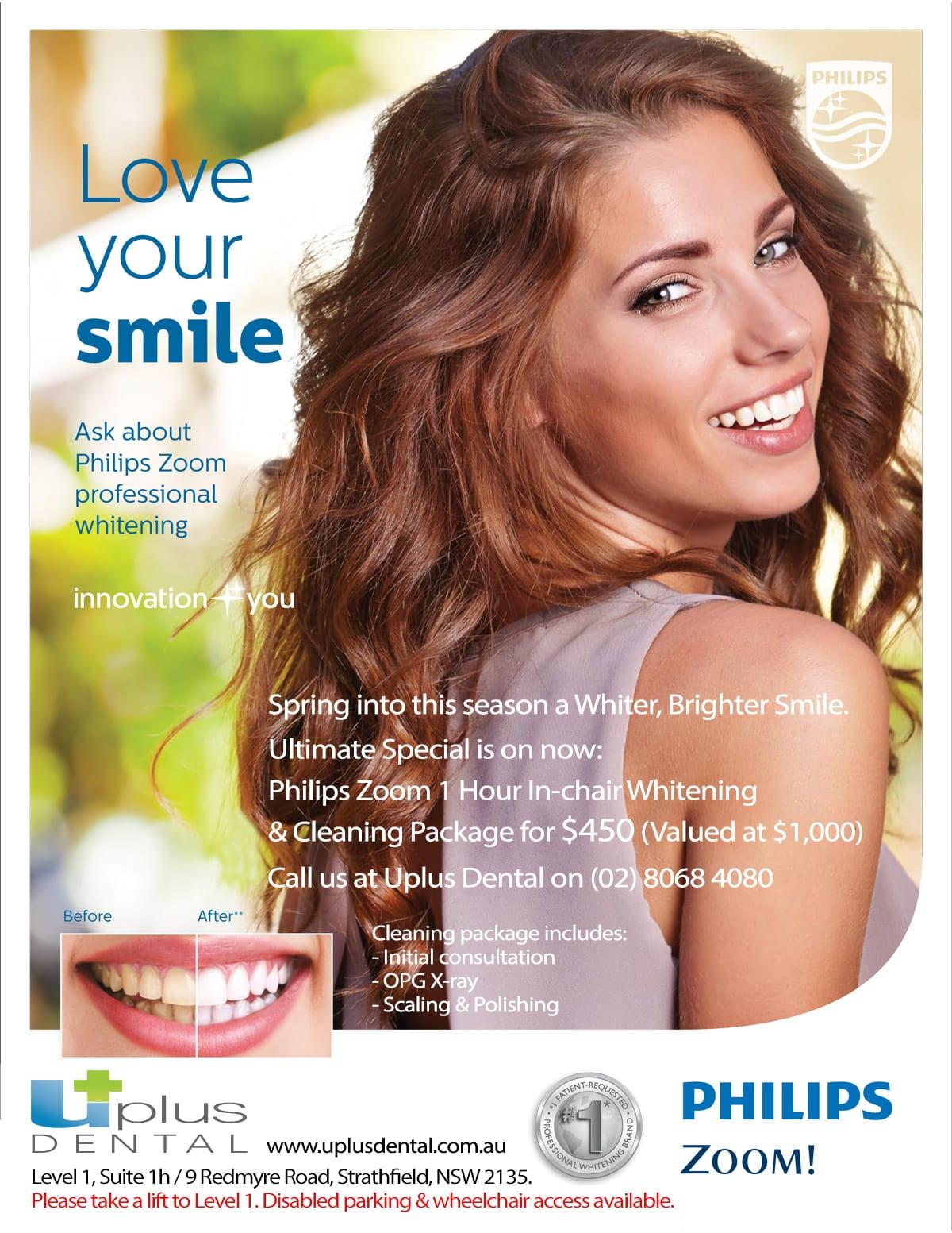 Uplus Dental Philips Zoom Teeth Whitening