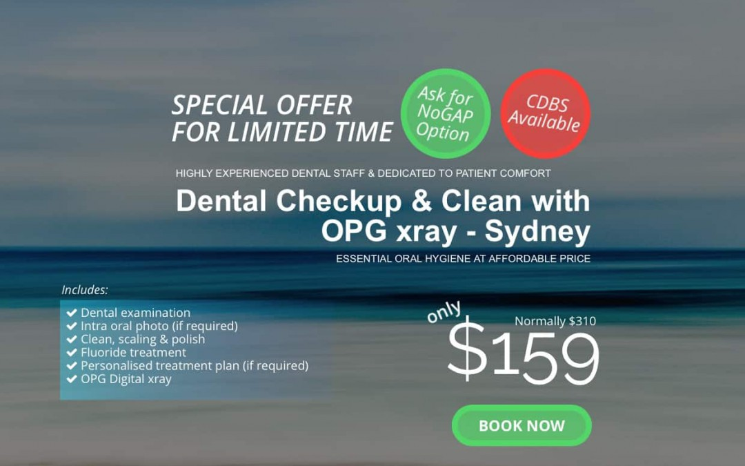 New Patient Special – Dental Cleaning Package