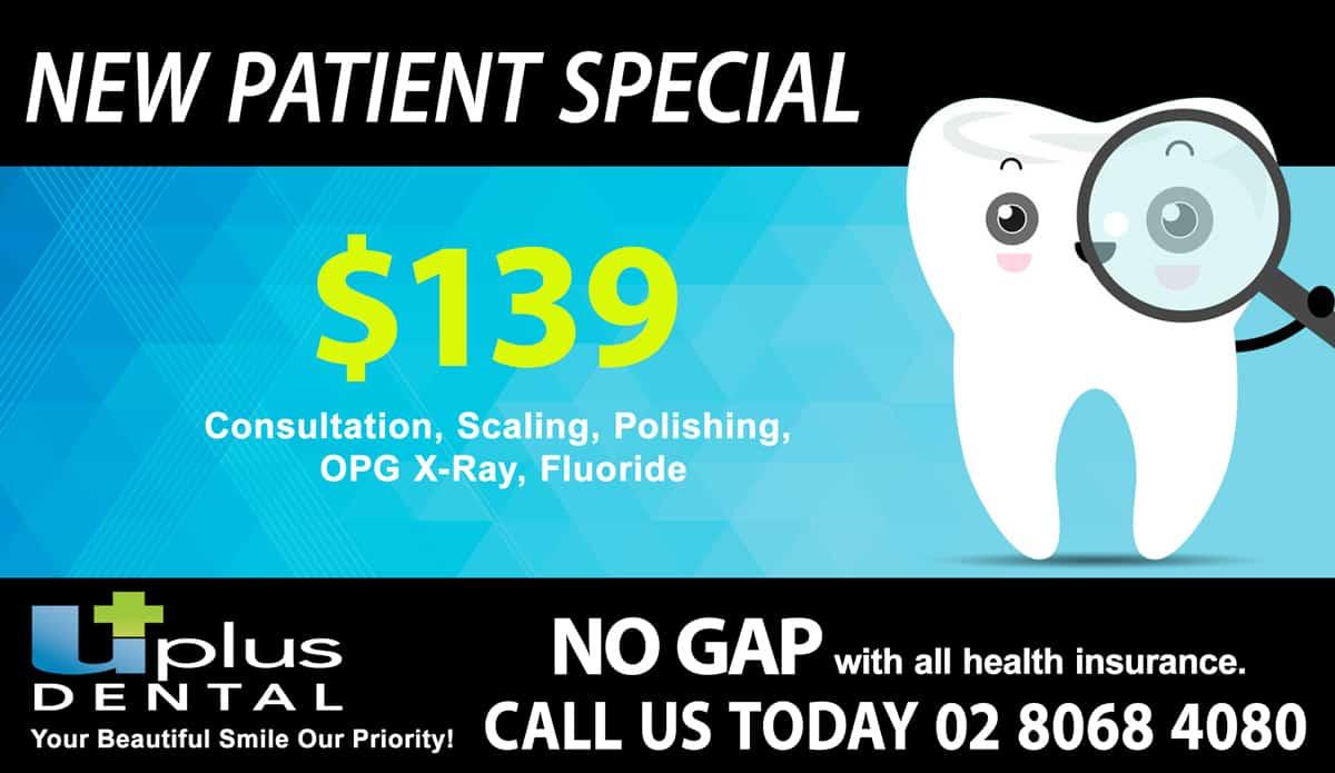 UplusDental-New-Patient-Special